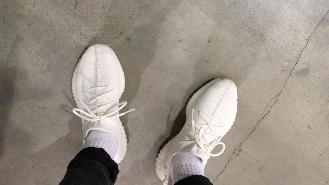 Yeezy 350 v2 'Cream White' sneaker