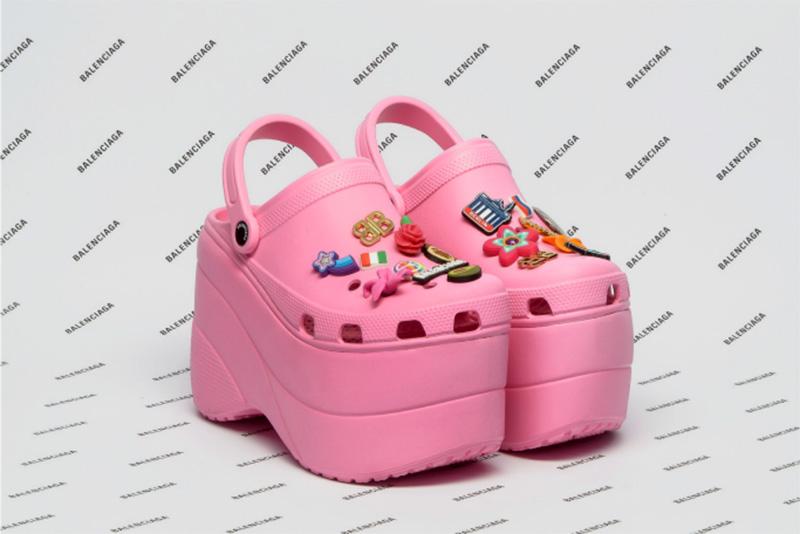 Balenciaga x Crocs Pink