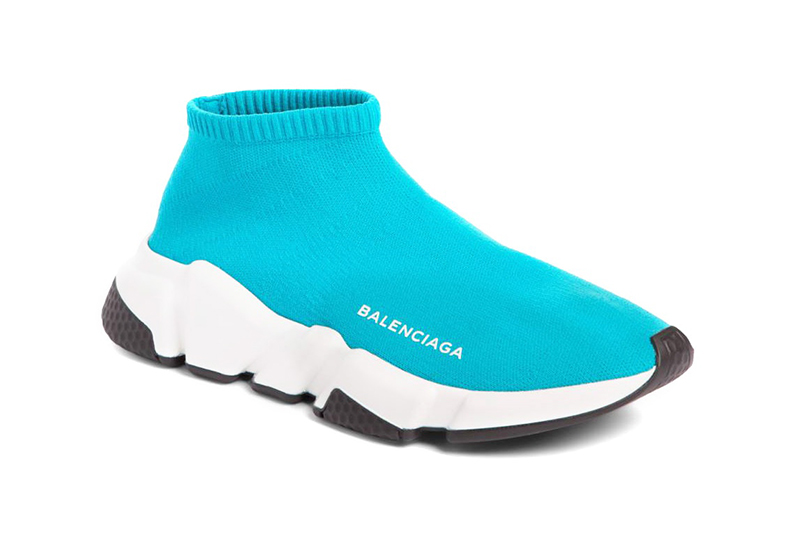 Balenciaga Speed Trainer Low Turquoise