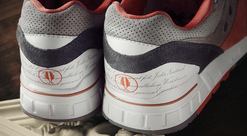 A sneaker idézetes sarka - képforrás: Afew-Store