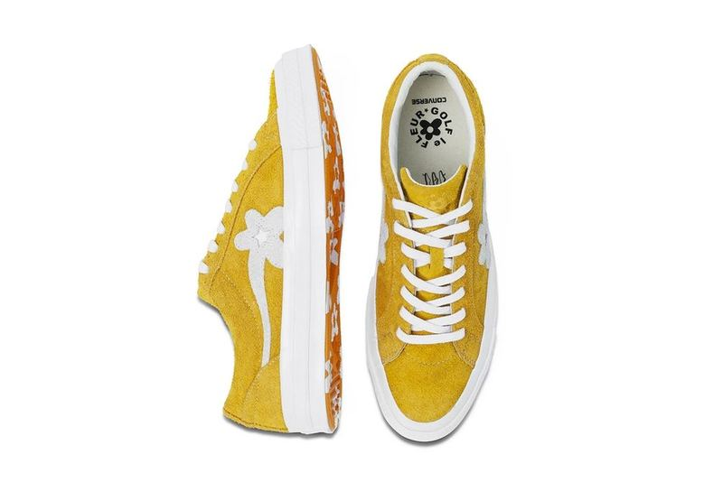 Tyler The Creator x Converse Golf Le Fleur Yellow