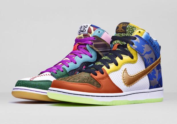 """2015 Nike Dunk High   What the Dornbecher"""" 66cdccb789"""