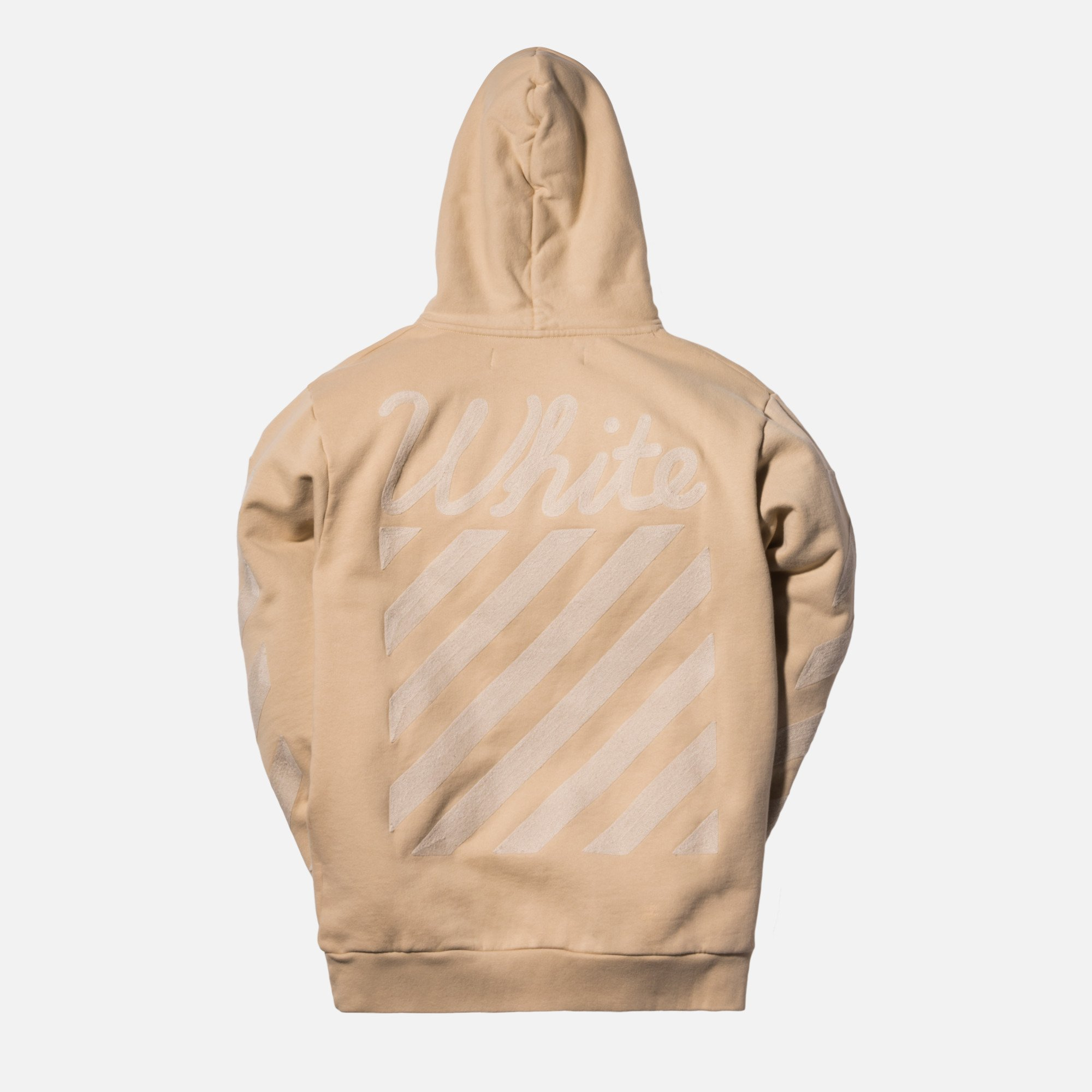 KITH-OFF-White-Tonal-hoodie