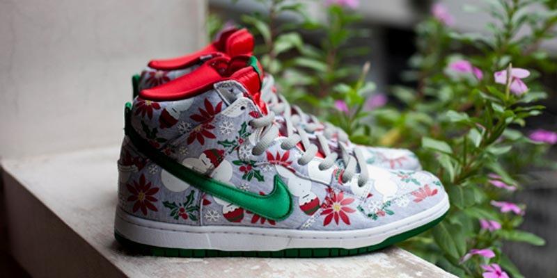 """Nike Sb Dunk """"ugly christmas sweater"""""""