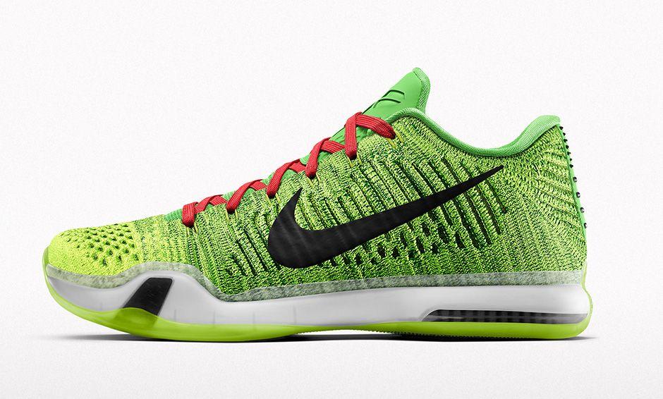 "Nike Kobe X Elite Low '' Grinch"""