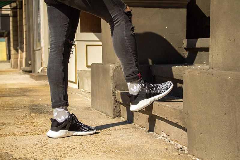 adidas EQT Support 93/17 fekete/fehér