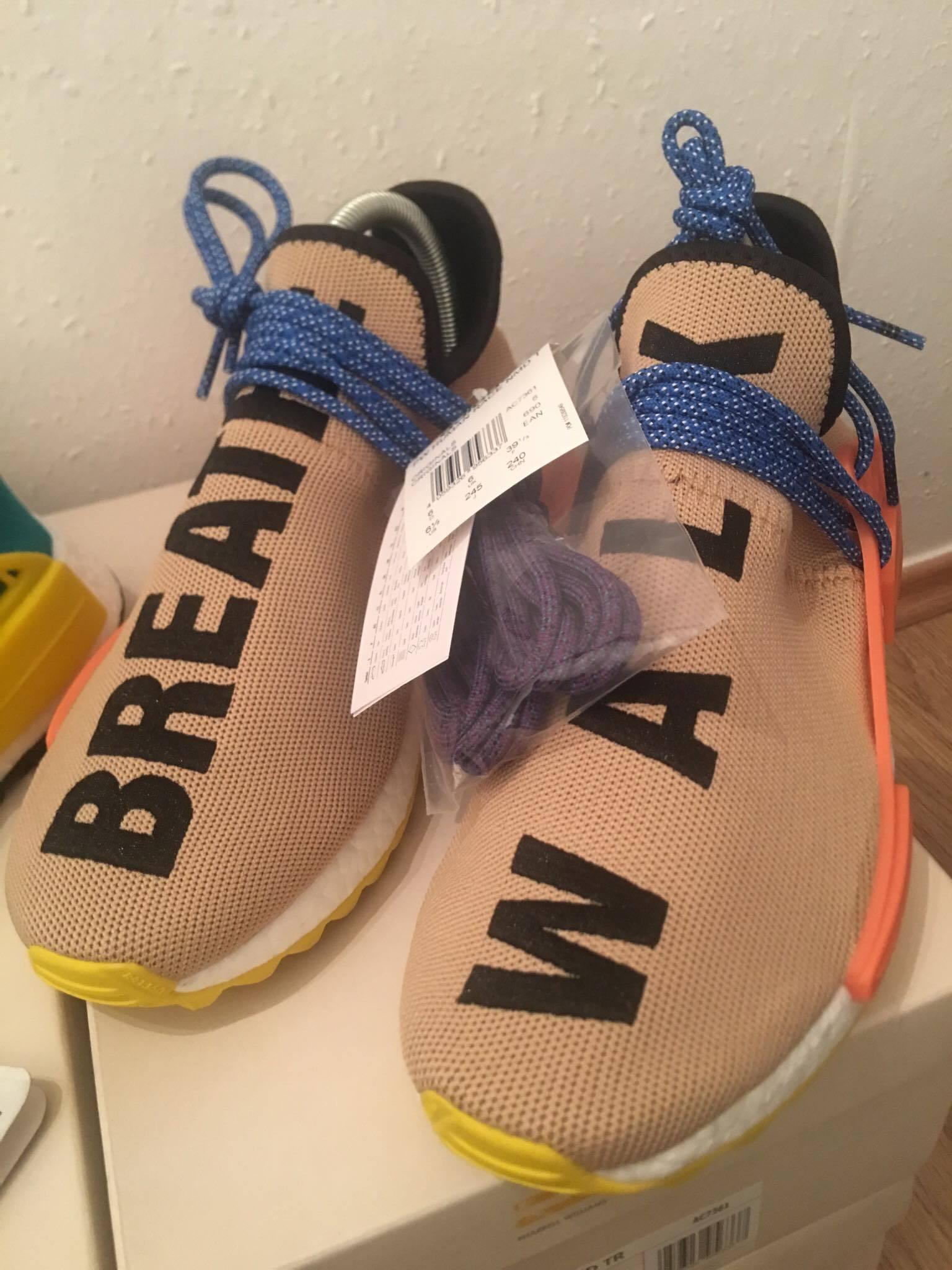 Adidas Shoes Box Hu Nmd