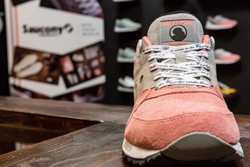 "detailed look 80822 d0a34 Saucony x Afew Shadow Master 5000 ""Goethe"" bemutató @ BP Shop"