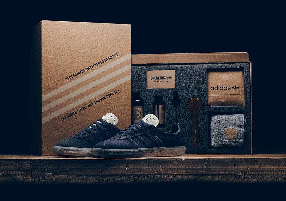Az adidas Gazelle Lux doboz és tartalma