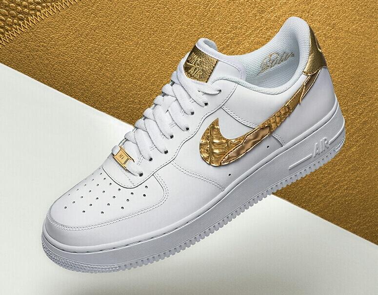 "CR7 x AF1 Nike Air Force 1 Low CR7 ""Golden Patchwork""NIKE"