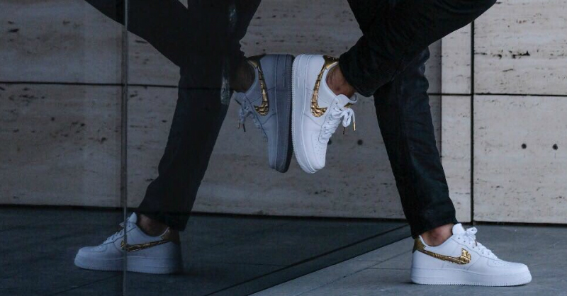 "Nike Air Force 1 Low CR7 ""Golden Patchwork"""