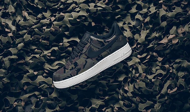 "Nike Air Force 1 Low '07 LV8 ""Medium Olive/Black-Baroque Brown"""