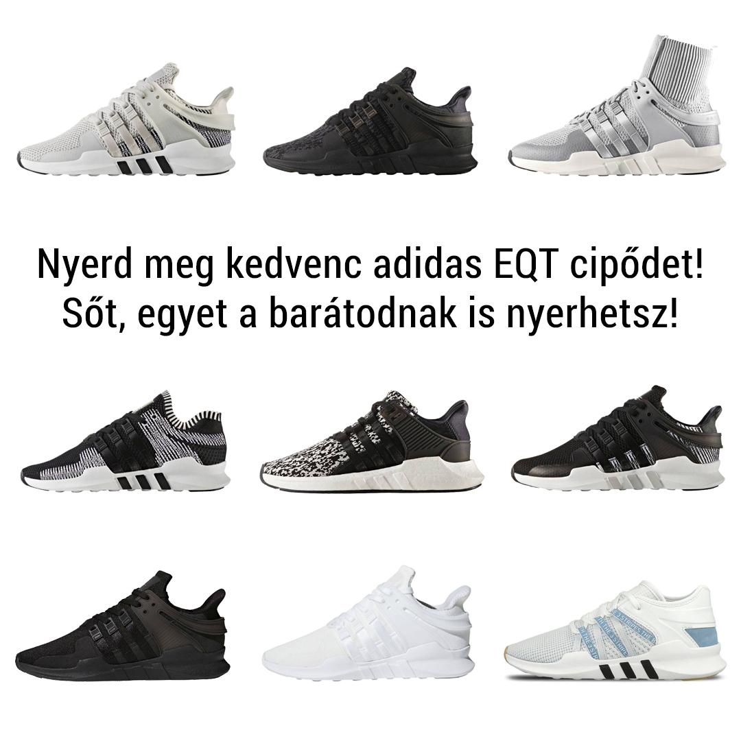 adidas EQT játék: te is és egy barátod is megnyerhetitek a kedvenceteket a sneakerbox.hu shop választékából!