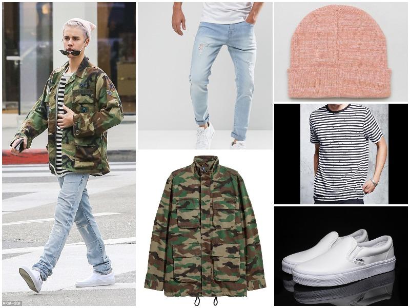 justin bieber fast fashion alternatíva