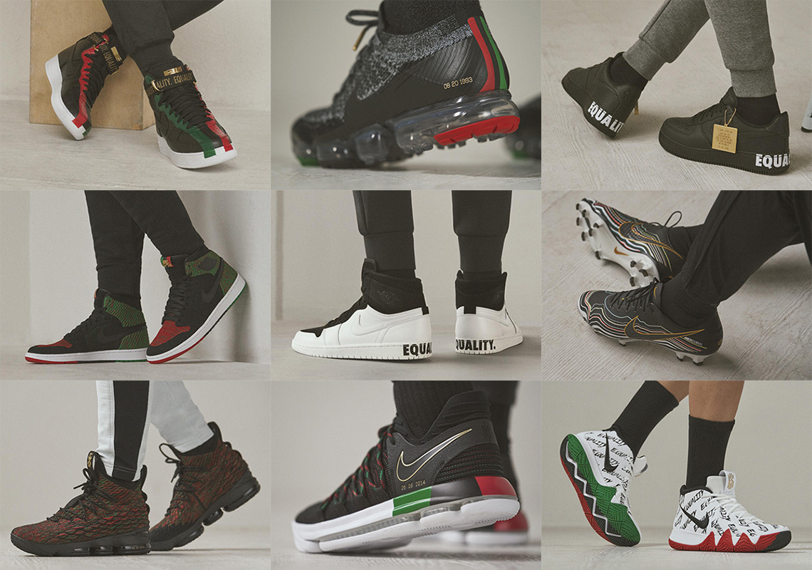 Nike Equality BHM Pack
