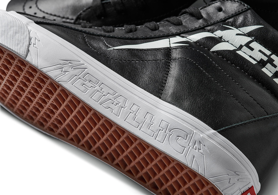 Vans x Metallica collection
