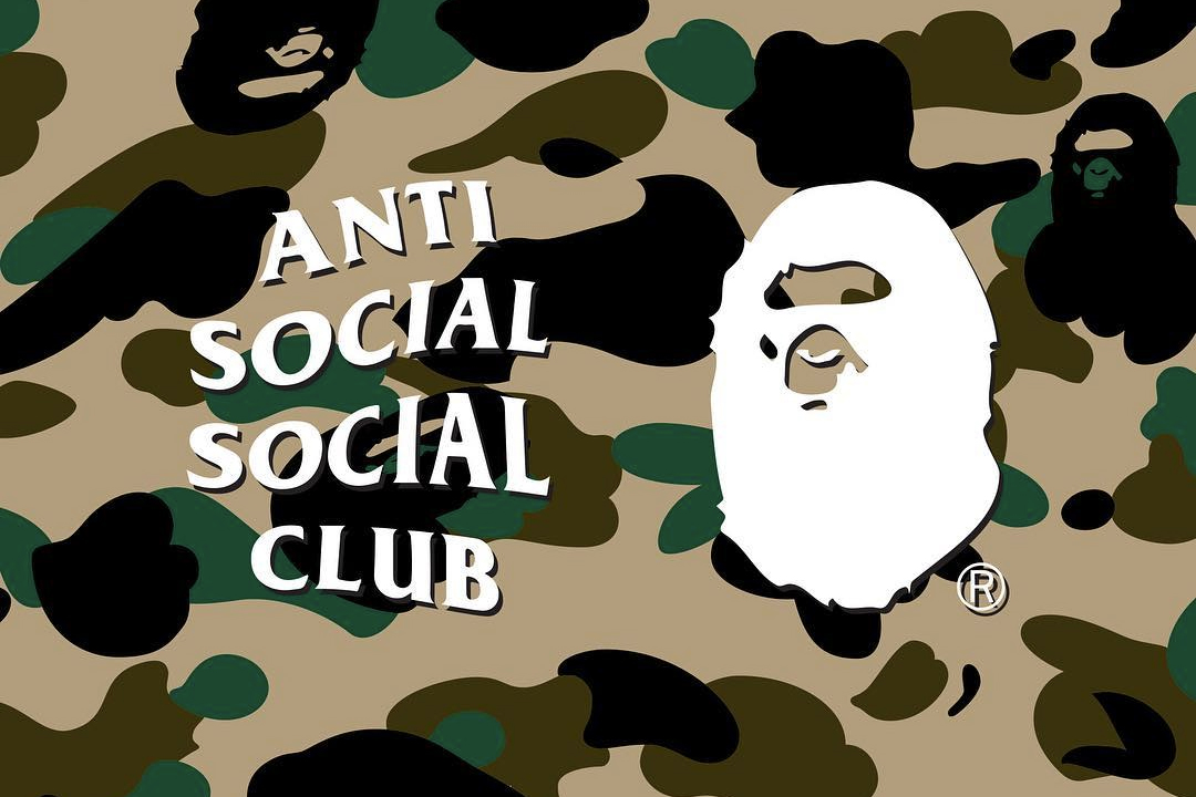 Anti Social Social Club x BAPE