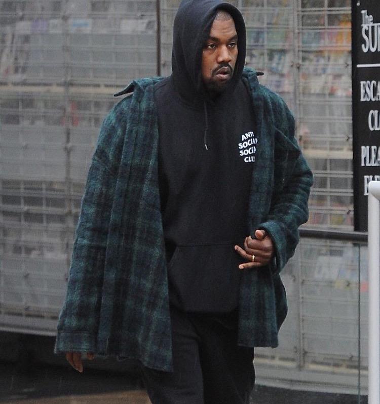 Anti Social Social Club hoodie Kanye Westen
