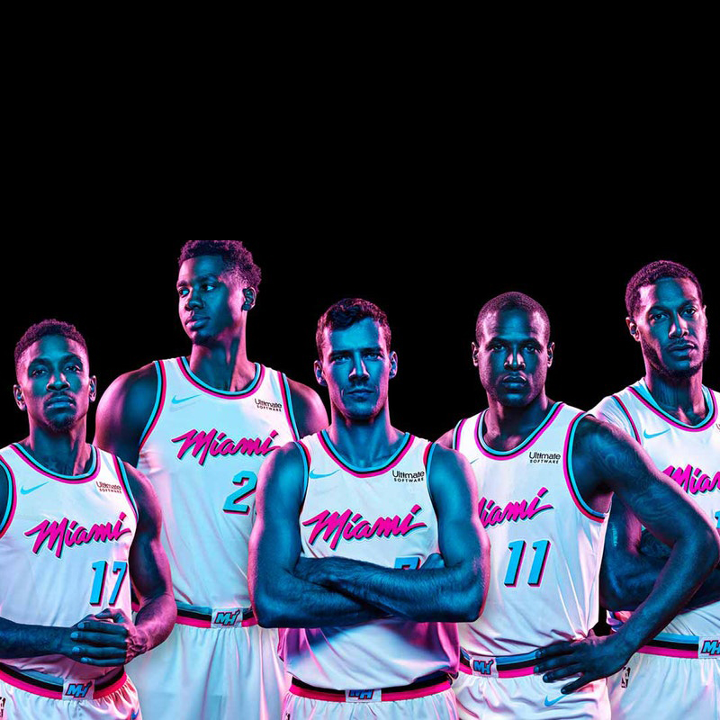 Miami Heat Vice Jersey