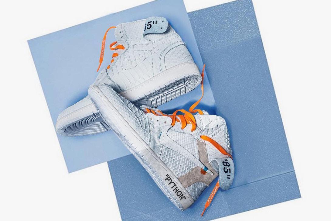 The Shoe Surgeon X Jordan 1 Off-White