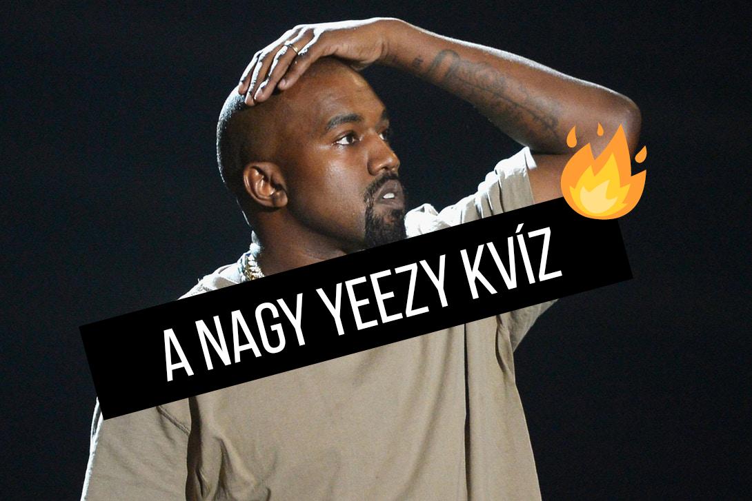 A Nagy Yeezy Kvíz
