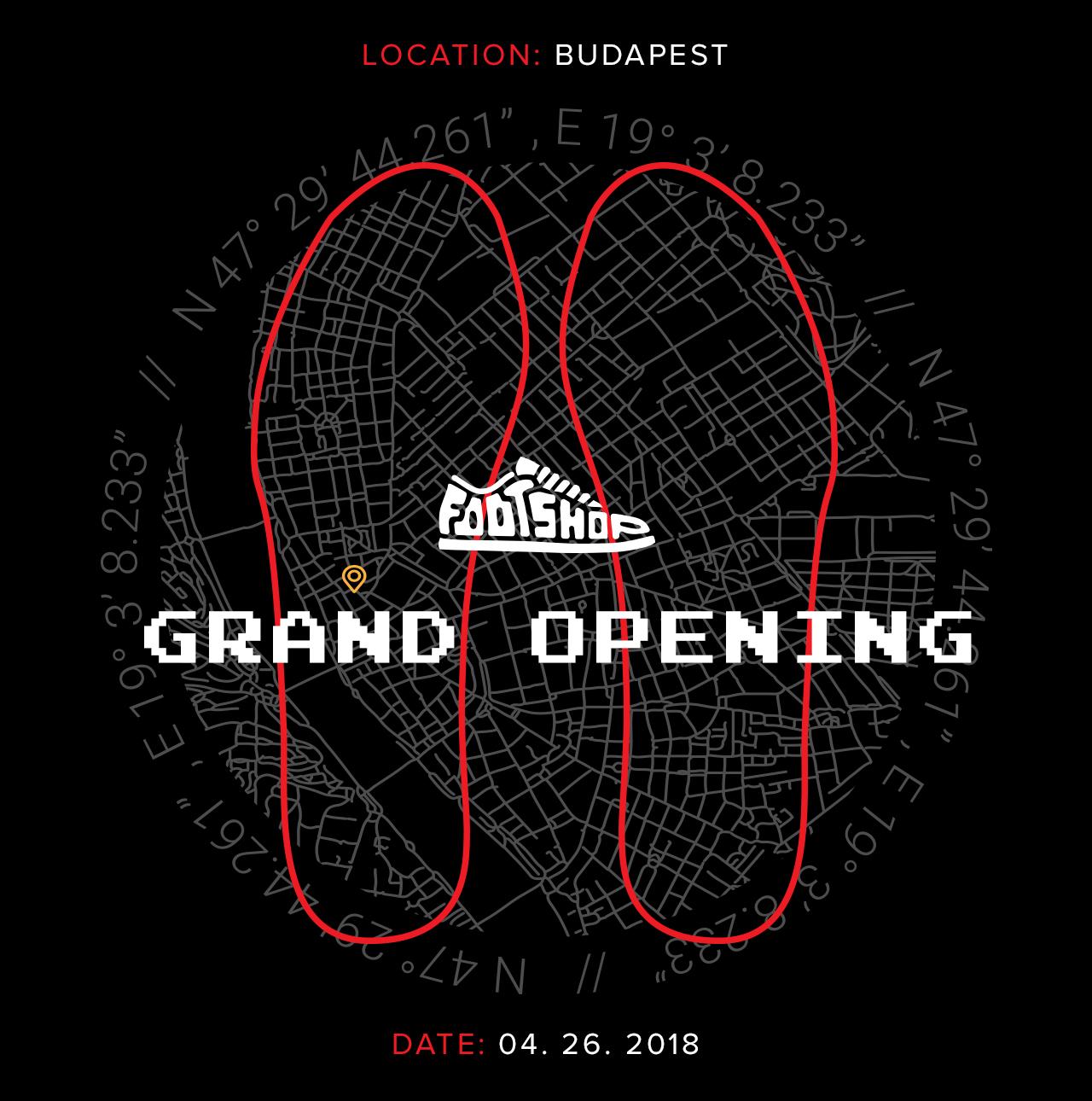 2018.04.26. Nyit a Footshop budapesti üzlete!