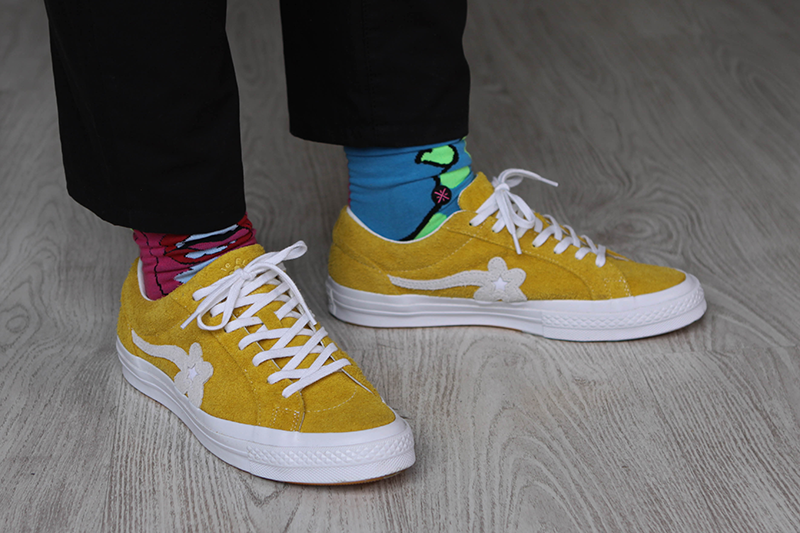 Tyler The Creator on feet