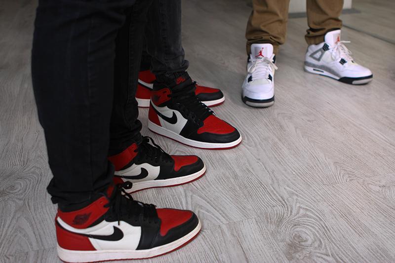 Jordan on feet