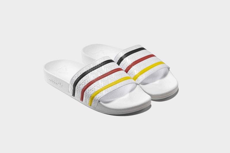 Palce x adidas: német precizitás - egy papucsban
