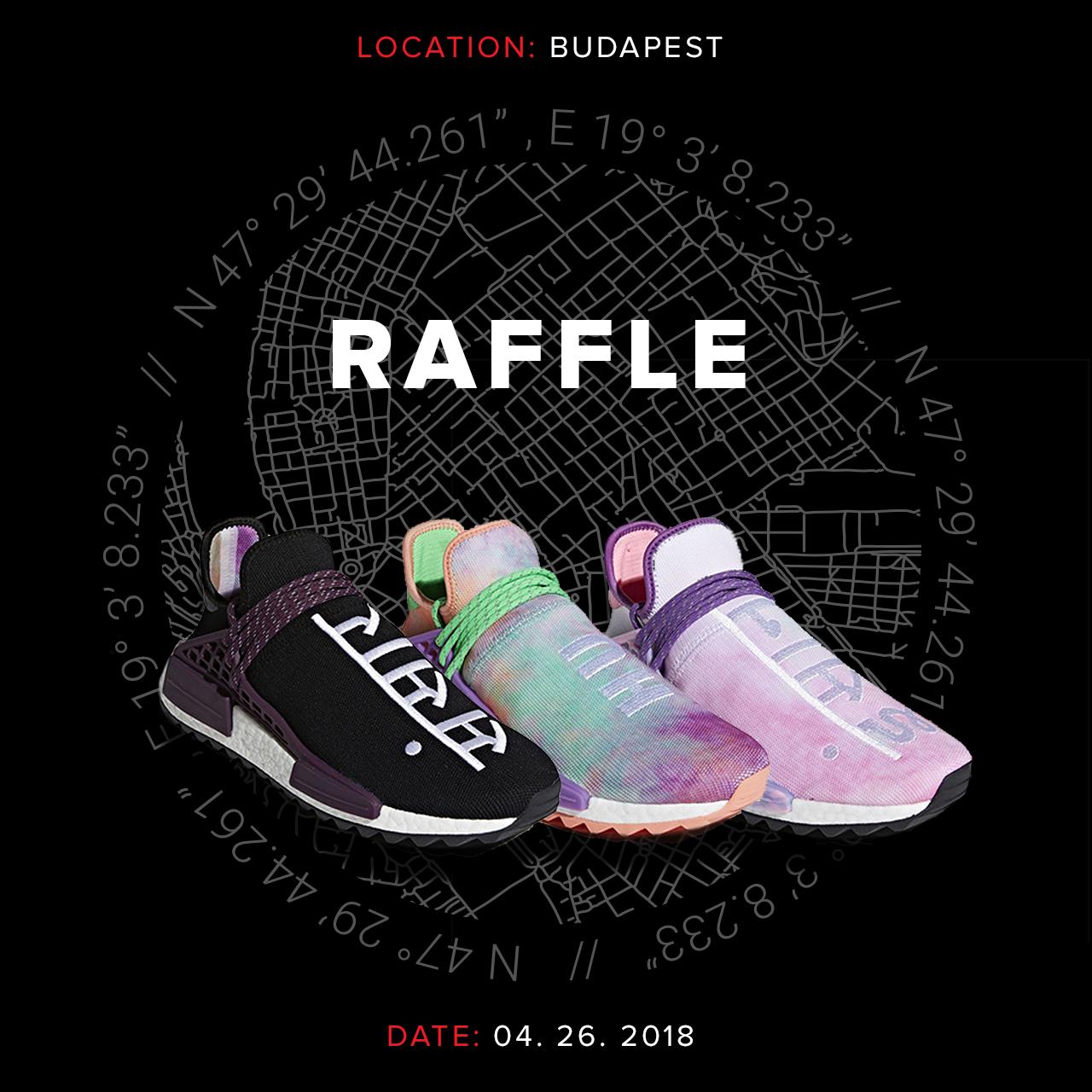 Footshop raffle - adidas Human Race 'Holi' pack