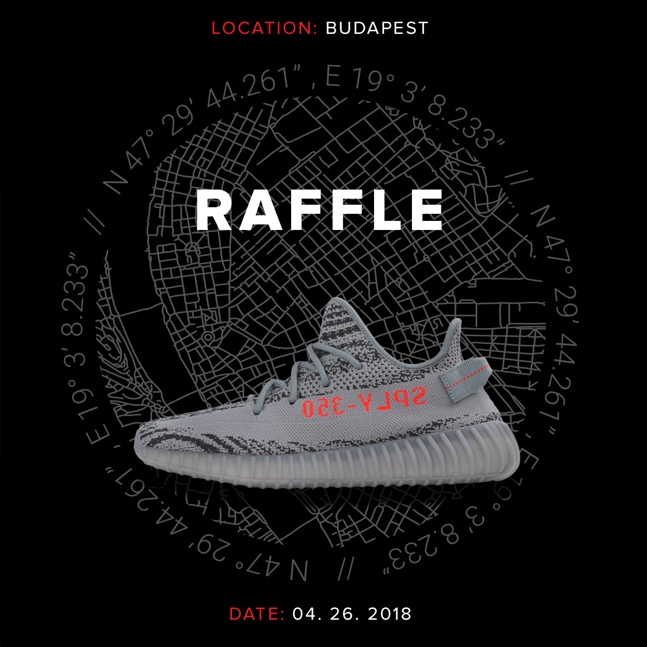 Footshop raffle - adidas Yeezy Boost 350 v2 'Beluga 2.0'
