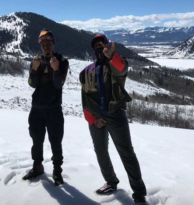 Asap Bari and Pierre Bourne in Wyoming