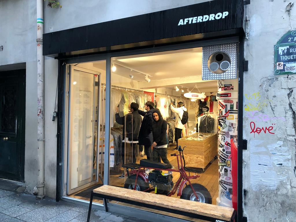 A párizsi resell fellegvár: afterdrop (Starcow (64 Rue Saint Honoré)