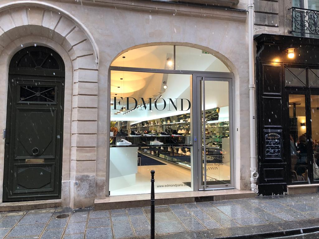 Store check Paris: Edmond (17 Rue Sainte-Croix de la Bretonnerie)