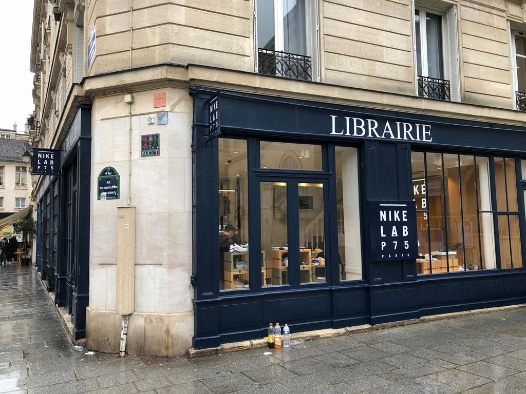 Párizsi sneaker üzletek: Nike Lab P75 (27 Rue Quincampoix)