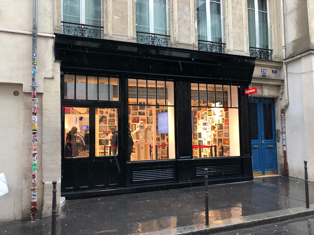 Hype Store Check Paris: Supreme (20 Rue Barbette)