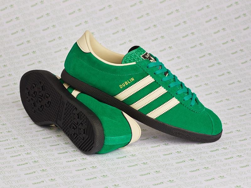 Size? x Adidas St. Patrick's day