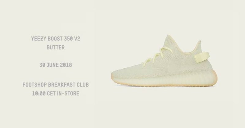 A Footshop Breakfast Club bemutatja: Yeezy Boost 350 V2 Butter