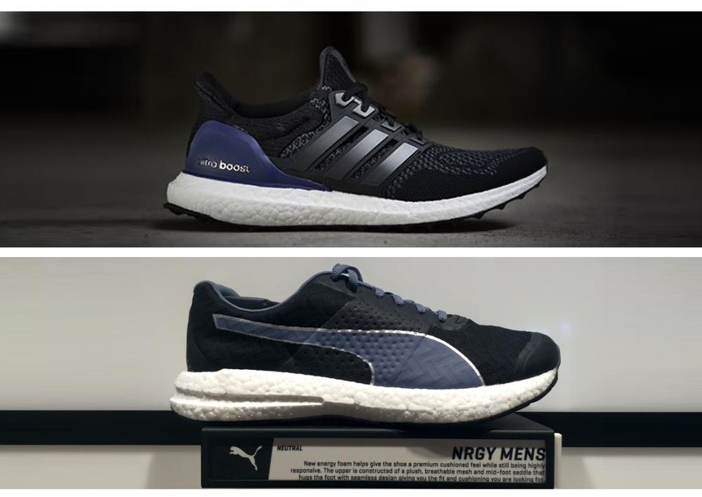 Puma NRGY Vs. Ultra Boost