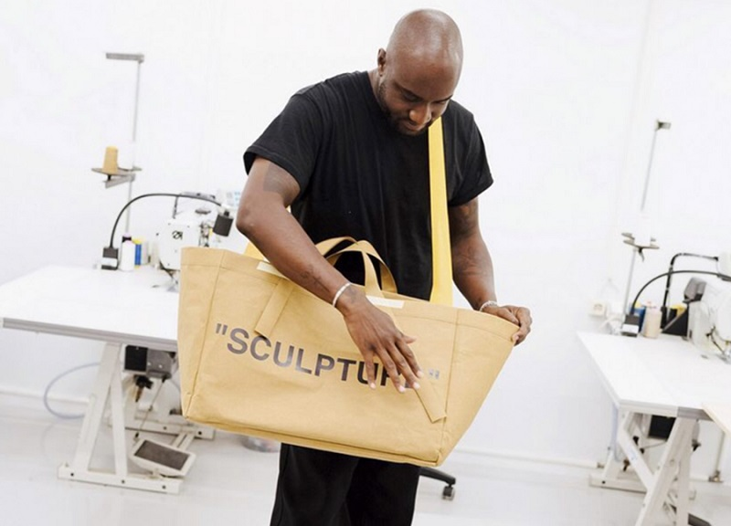 Off-White sculpture bag
