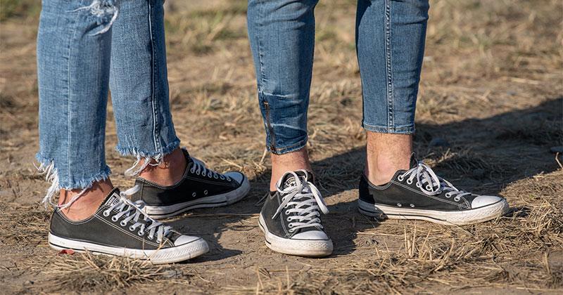 Az egyik leggyakoribb fesztivál cipő: Converse Chuck Taylor All star - A Tornacipő