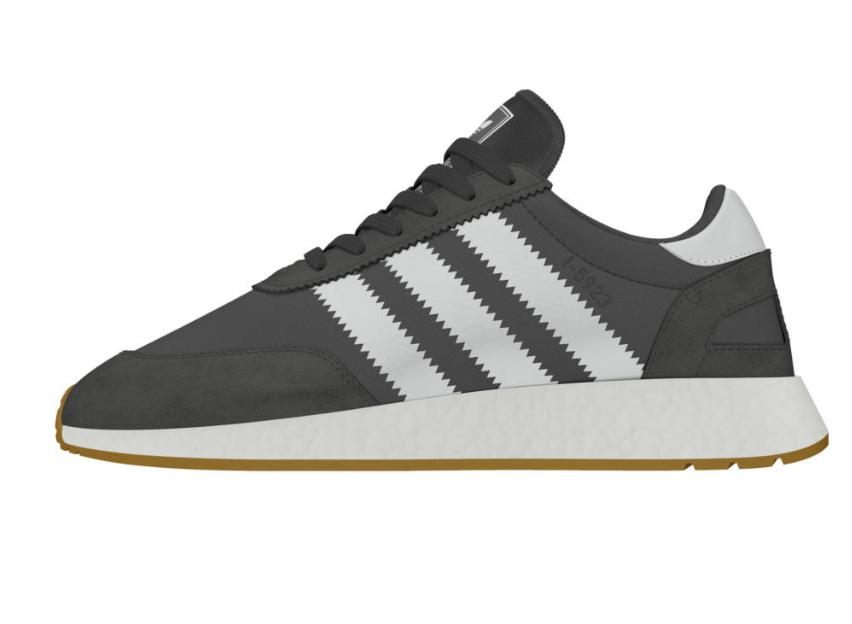 adidas Iniki Runner (I-5923) szürke/fehér/gumi