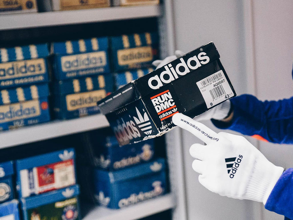 Az adidas archívum (Kép: 1000sneakers.com)
