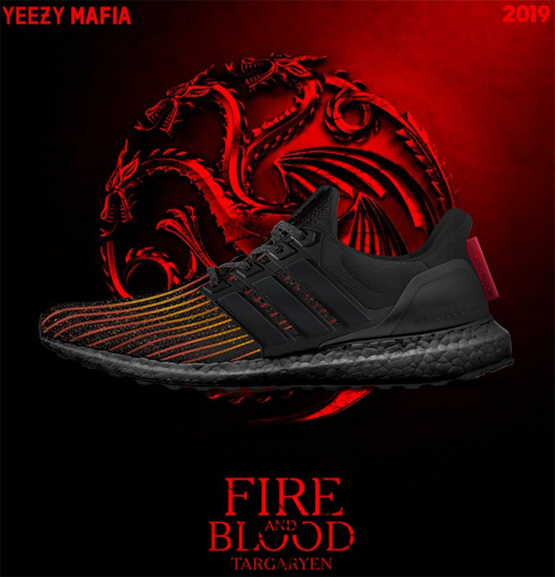 adidas ultra boost fire and blood