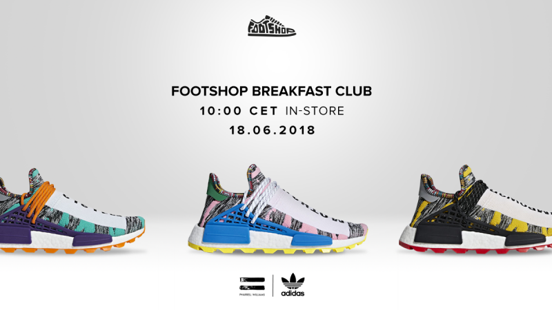 A Footshop Breakfast Club bemutatja: adidas x Pharrell Williams SolarHu NMD