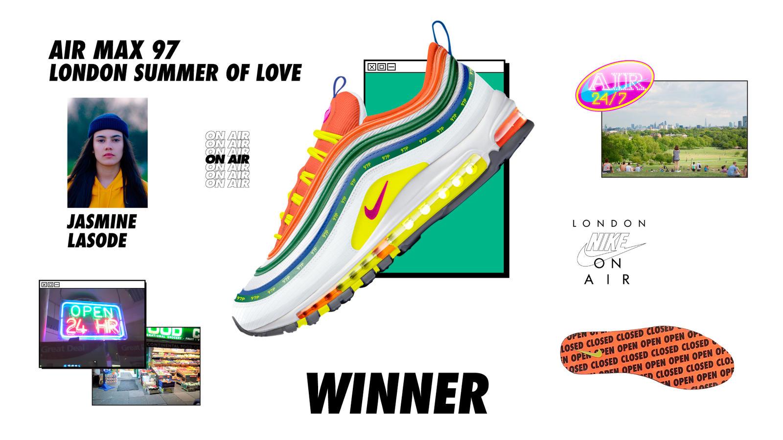 Nike On Air London Jasmine Lasode