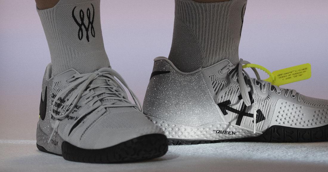 Nike x Virgil Abloh for Serena Williams NikeCourt Flare