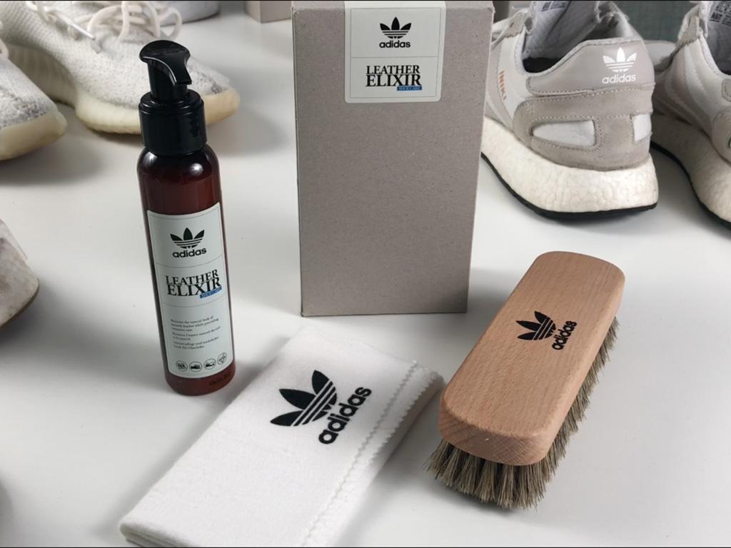 adidas Leather Elixir festett bőr felsőrésszel rendelkező sneakerekhez