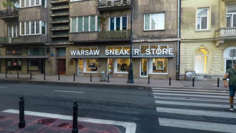 Varsó legikonikusabb sneaker üzlete