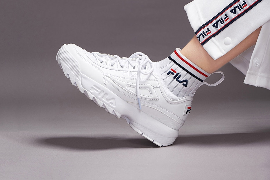 Fila Disruptor: back in the game